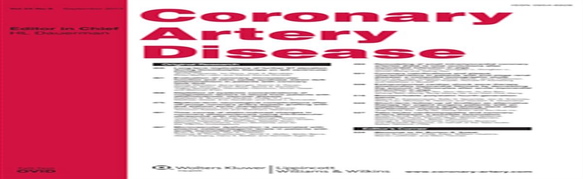 Low-density lipoprotein cholesterol/apolipoprotein B ratio... : Coronary Artery Disease